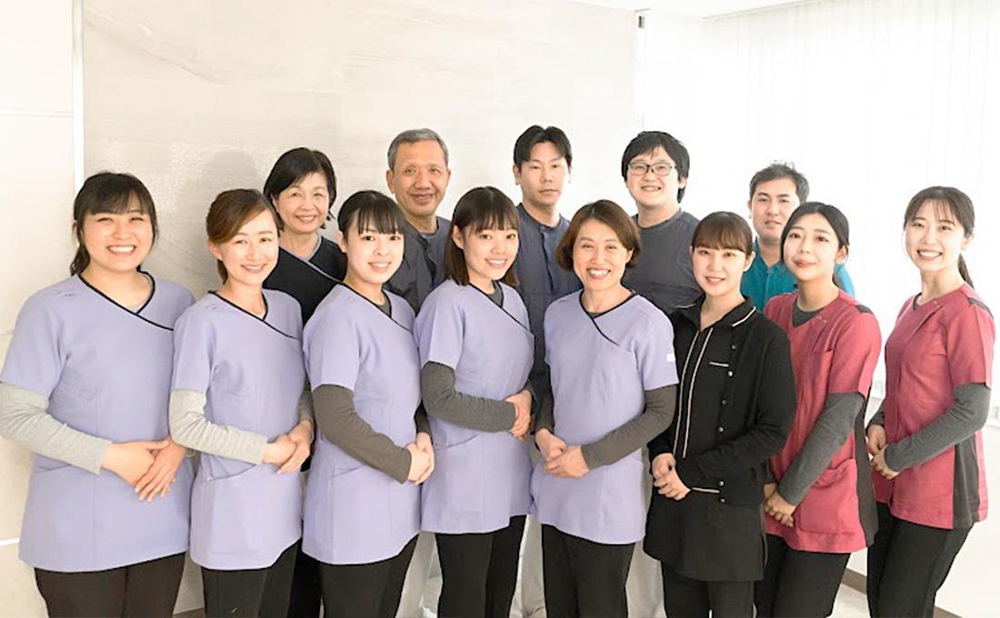 当院ではチーム医療を掲げ、スタッフ全員で患者様の健康をお守りします