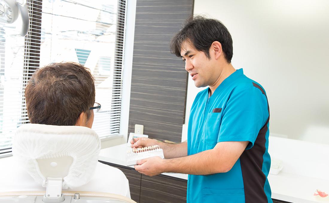 院内技工所の併設、歯科技工士の常駐